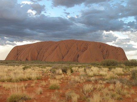Uluru, Ayers Rock, Australia, Outback
