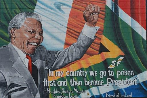 Nelson Mandela, Quote, Mural, Belfast