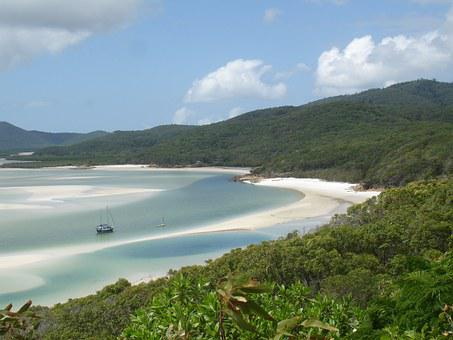 Whitsundays - Australia, Sea, Blue, Water, Ocean