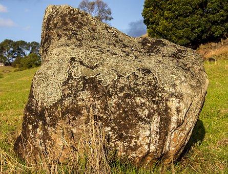 Rock, Boulder, Basalt, Geology, Lichen, Volcanic