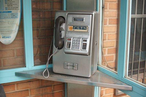 Public Telephones, Card, Phone