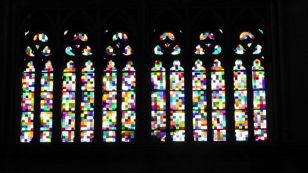 Window, Church Window, Colorful, Stained Glass