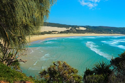 Fraser Island, Kgari, Indian Head, Beach, Coast