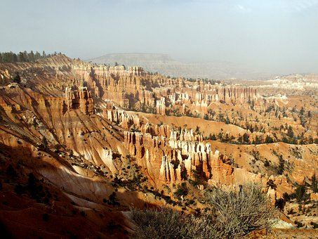 Bryce Canyon, National Park, Utah, Usa, Erosion