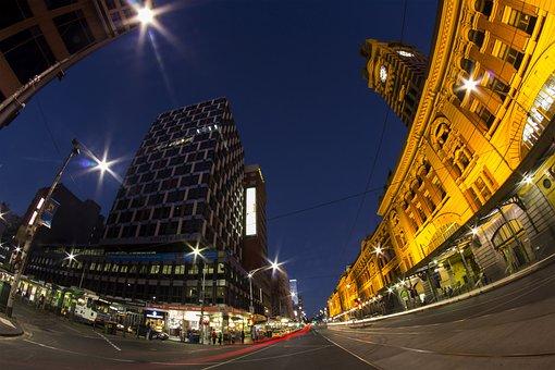 Australia, Melbourne, Flinders Street Railway Station