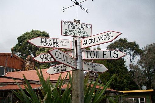 New Zealand, Address, Guide, Post