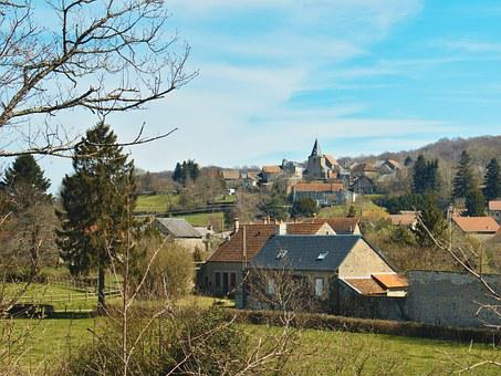 Saint Martin Of Le Puy, Morvan, Nièvre, France