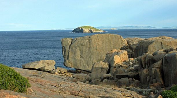 Stones, Sea, Elephant Rocks, Ocean, Rock, Coast
