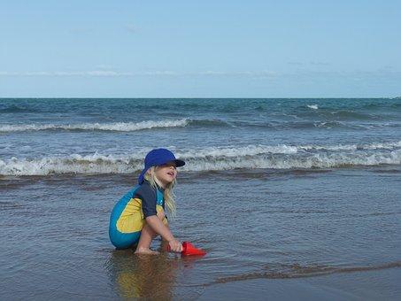 Beach, Queensland, Tropical, Australia, Sea, Ocean