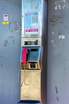 Phone, Communication, Connection, Public, Phone Booth