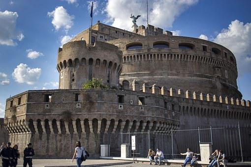 Rome, The Vatican, Holy Angel Castle, Building