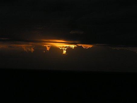 Sunrise Darkness, Shelly Beach, Nsw, Australia