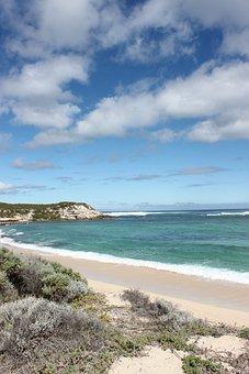 Australia, Sea, Sky, Beach, Sand, Coast, Water, Ocean
