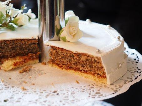 Cake, Wedding Cake, Cream Pie, Addressed, Marry, Sweet