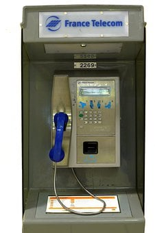 Phone, Communication, Telephone Line, Public Phone