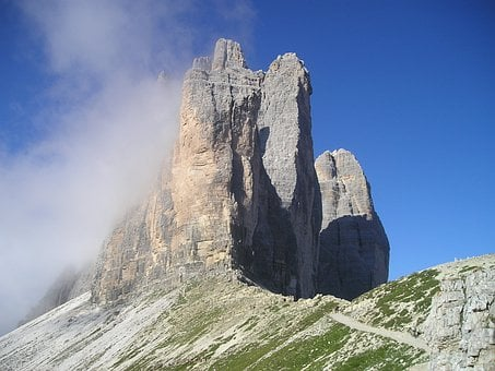 Three Zinnen, Lavaredo, North Wall, Big Pinnacle