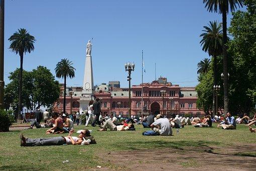 Argentina, Buenos Aires, Plaza 2 De Mayo, Casa Rosada