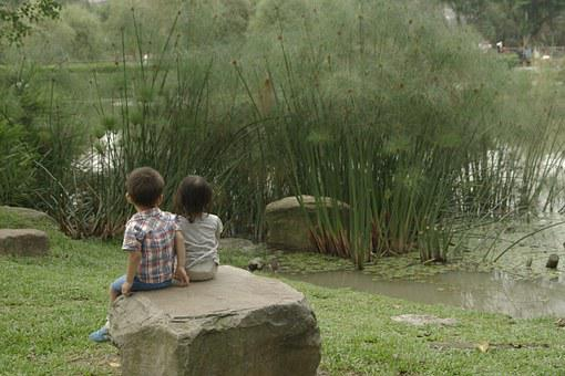 Youth, Newnham, Artistic Conception, Kids, Nature