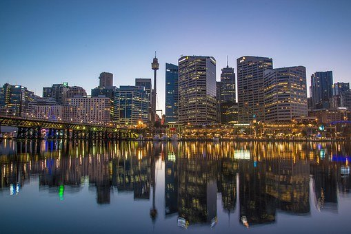 Sydney, Australia, Centrepoint Tower, Dawn