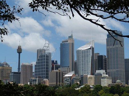 Sydney, Australia, City, Skyscraper, Skyscrapers