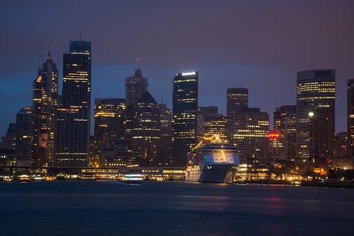 Sydney, Australia, Circular Quay, Cruise Ship