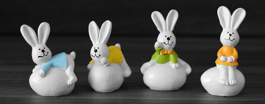Easter Bunny, Rabbit, Rabbit Ears, Easter, Easter Eggs