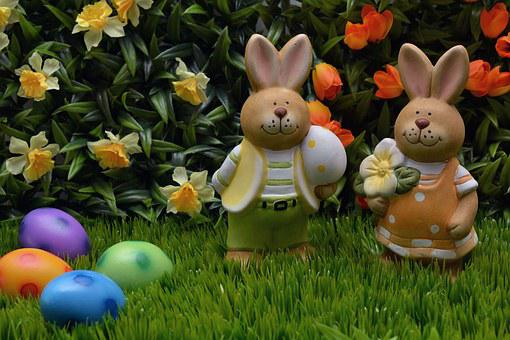 Easter Bunny, Rabbit, Easter, Easter Eggs, Egg, Orange