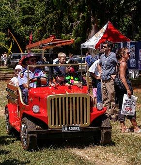 Fire Truck, Mini, Children, Vehicle, Truck, Fire Engine