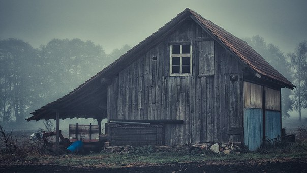 Retro, House, Artistic Conception