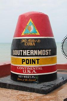 Florida, Southernmost, Pier, Key West