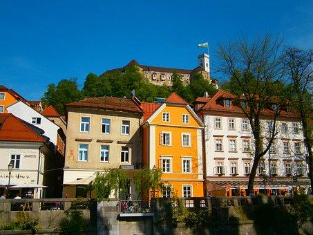Ljubljana, City Centre, Slovenia, Ljubljana Castle