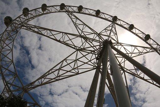 Melbourne Star, Ferry Wheel, Ferries Wheel, Attraction