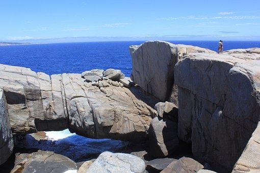 Albany, Natural Bridge, Australia, Coast, Shore, Rocks