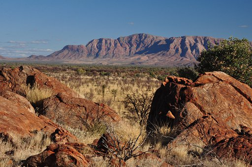 Ranges, Central Australia, Dry Country, Remote