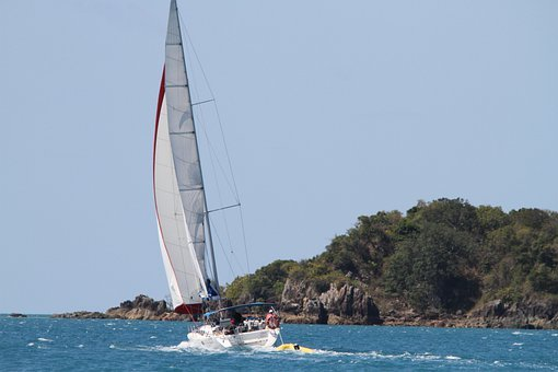 Sail, Sailing Boat, Boat, Great Barrier Reef