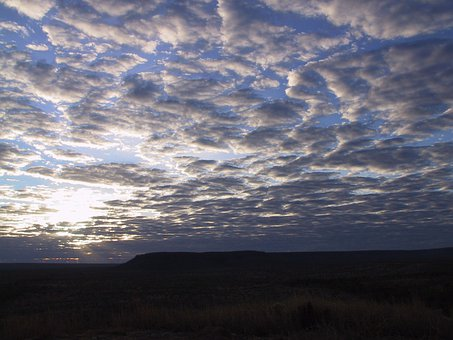 Sunrise, Morgenstimmung, Morning, Australia, Flat, Sky