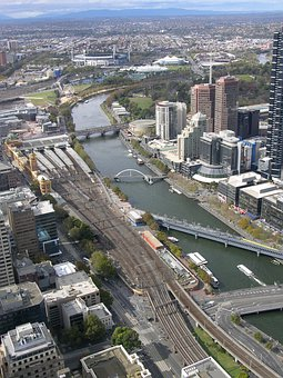 Southbank, Melbourne, Victoria, Australia, River, City