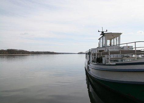 Steamer, Lake, Seafaring, Boat Trip, Water, Ship, Boat