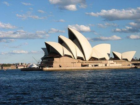 Opera, House, Sydney, Travel, Tourism, Famous, Theater