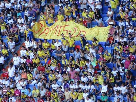 Stadium, Public, Colombian, Colombia, Bernabeu