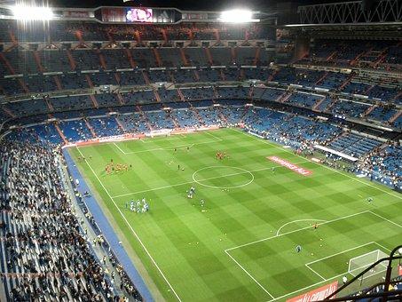 Stadium, Santiago, Bernabeu, Football Stadium