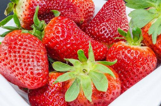 Berries, Fruit, Strawberries, Bush, Fruits, Raspberries