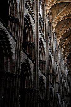 Rouen, Cathedral, France, Building