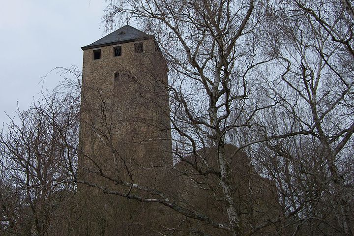 Castle Lichtenberg, Castle, Burgruine, Kusel