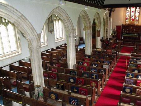 St George's Morebath, Church, Interior, Arches, Arch