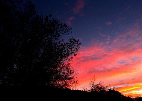 Sunrise Landscape, Dawn, Autumn, Landscape, Landscapes