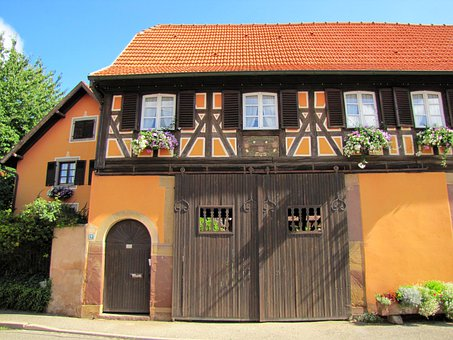 France, House, French, Architecture, Residence, Home