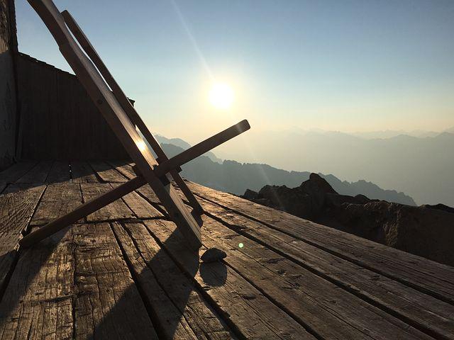 Mountain, Hut, Black Stone Hut, Ginzling, Zillertal