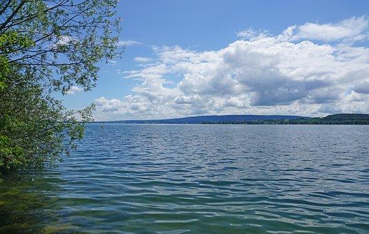 Untersee, Zellersee, Lake Constance, Peninsula, Mettnau