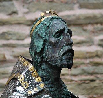 Figure, Man, Bust Of Karl, Kaiser Karl, Portrait